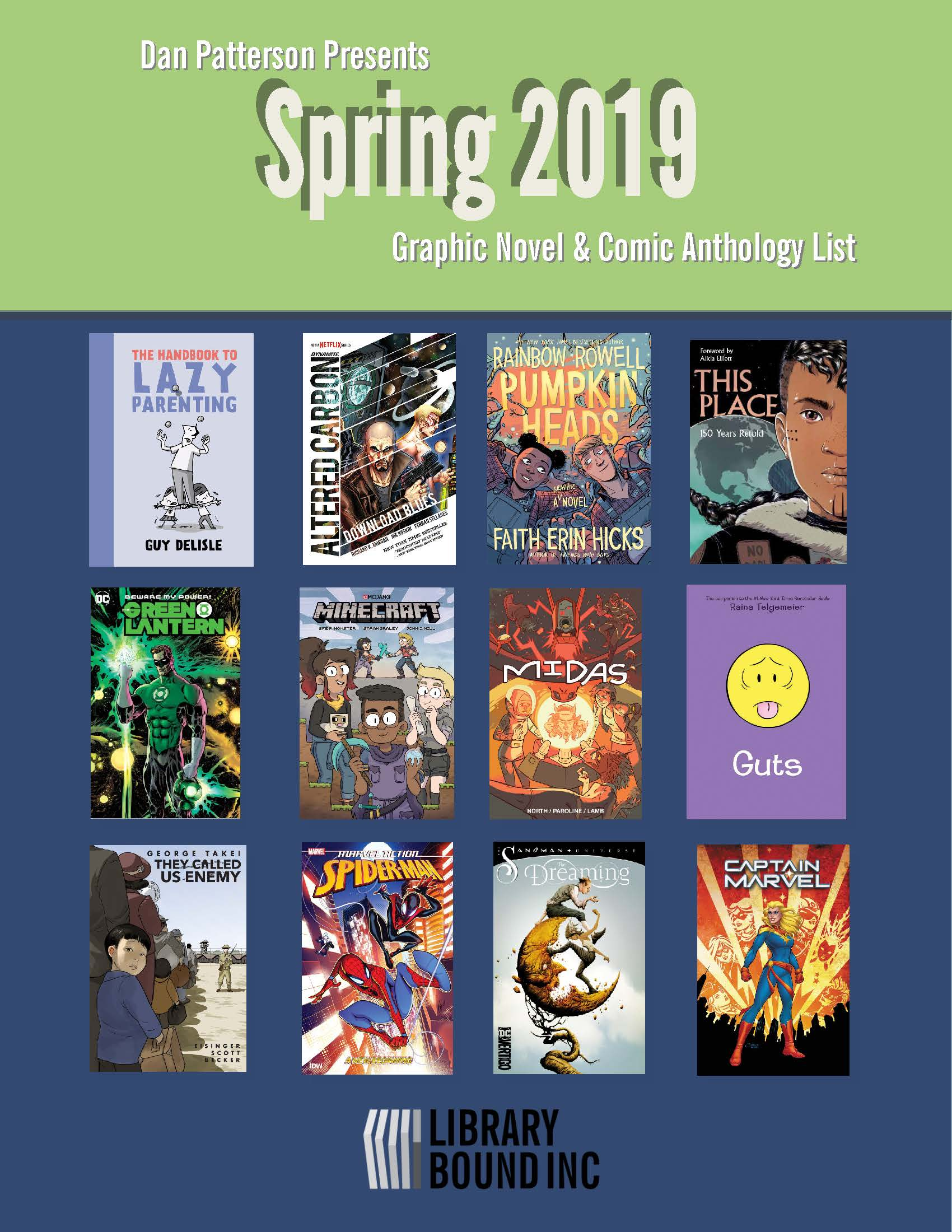 Graphic Novel Spring 2018